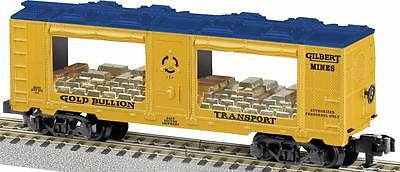 American Flyer 6-48846 Gilbert Mines Mint Car S gauge Gold load Commemorative