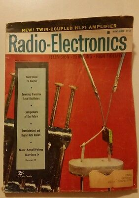 1957 Radio-Electronics Magazine,Transistor Radio,Advertising
