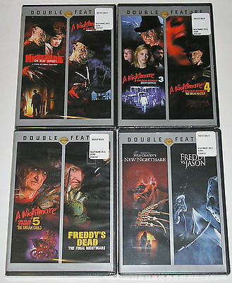 Horror DVD Lot - A Nightmare on Elm Street Movie Collection (New)
