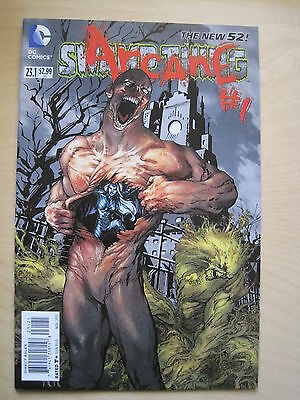 Swamp  Thing  #  23.1 / Arcane # 1.   The New 52. Great Cover ! Dc. 2013