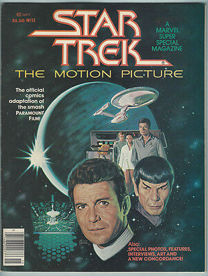 Marvel Super Special 15 NM- 1979 Star Trek The Motion Picture Movie Magazine