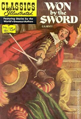 Classics Illustrated 151 Won by the Sword (1959) #1 GD/VG 3.0 LOW GRADE