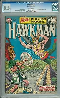 Hawkman # 1 First Issue ! Master of the Sky-Weapons  !  CGC 8.5 scarce book !