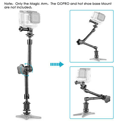 """Neewer 11"""" Adjustable Friction Articulating Magic Arm for Monitor LED Light"""