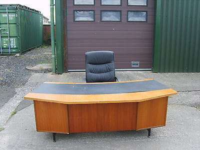 Large Retro Executive Desk
