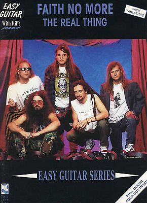 Faith No More 1991 The Real Thing Guitar Tab Book