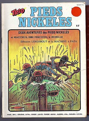 TRIO LES PIEDS NICKELES N°18 aout 1977