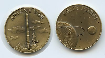 "GX865 - Bronzemedaille Space Medal ""Ariane V25"" Start am 15.06.1988"