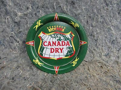 Vintage Canada Dry Ginger Ale Soda Tip Tray Sign