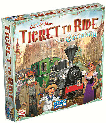 Days of Wonder - Ticket to Ride Germany Board Game - Brand New