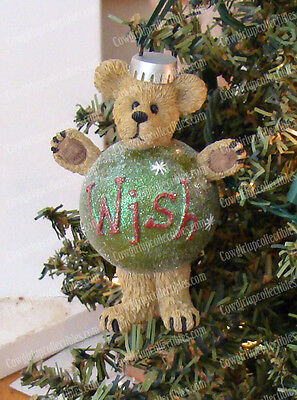Wish Plump, Waddle (Boyds Bear by Enesco, 4016675) Christmas Ornament
