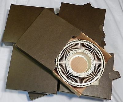 LOT 8 Vtg Sawyer Rototray Carousel Projector Rotary Slide TRAYS 1964 Holds 800