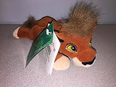 Lion King - Kovu - Bean Bag Plush - Disney WDW - Beanie NWT New