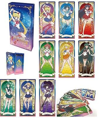 Sailor Moon R Crystal  KARTE 25th Anniversary Toei Official Licensed Tarot Cards
