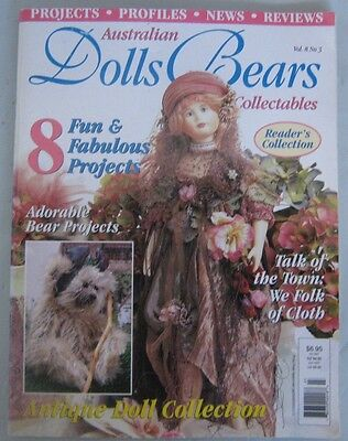 Australian Dolls Bears and Collectables Magazine Vol 8 No 3