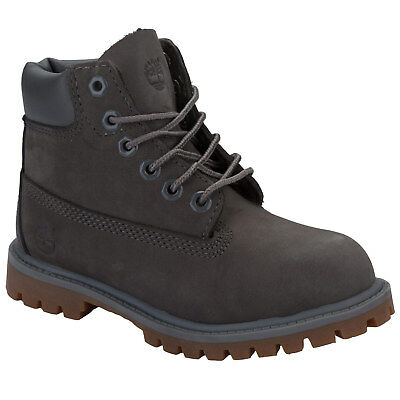 Boys Timberland Infant Boys 6 inch Premium Boots in Grey - 8.5 infant