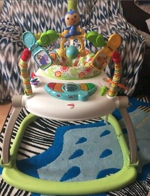 Fisher Price Rainforest Space saver Compact Jumperoo Bouncer