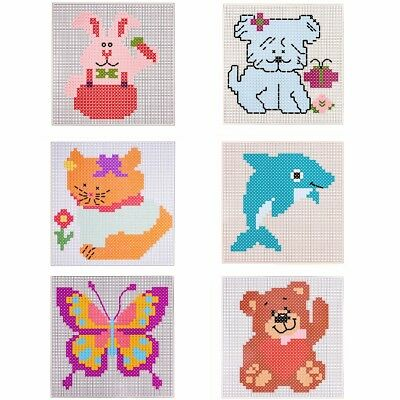 BEGINNER'S CROSS STITCH STARTER PACKS Various Designs Embroidery/Sewing Gift Set