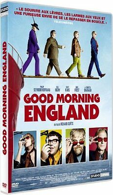 DVD *** GOOD MORNING ENGLAND *** de Richard Curtis