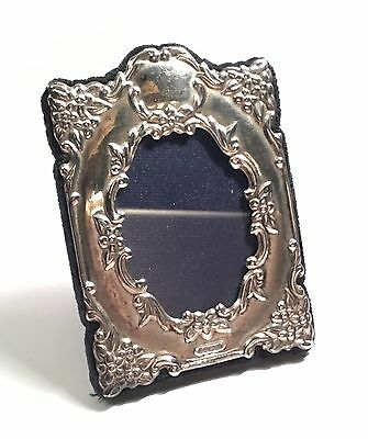 Rc Carrs Sterling Silver Not Scrap Small Picture Frame Signed With English Marks