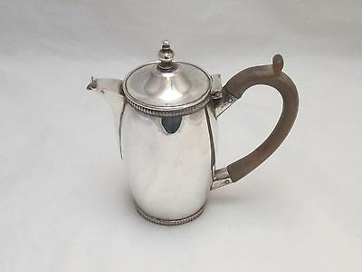An Unusual Small Silver Plated on Copper Hot Water Jug - 19th Century