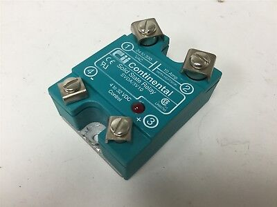 Continental SVDA/3V10 Solid State Relay, Control 4-32VDC, Contacts 24-330VAC 10A