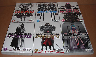 Magical Girl Apocalypse Vol. 1,3,4,5,6,7 Manga Graphic Novels Set English