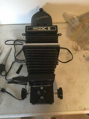 Beseler 23C II Enlarger Head And Lens