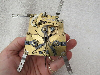 Vintage German Striking Clock Movement For Spares Or Repair