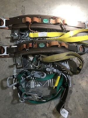 Buckingham Bucksqueeze 483D And Two Linesman Belts With Lanyards