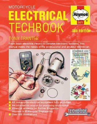 Motorcycle Electrical Techbook by Tony Tranter 9780857339362 (Paperback, 2014)