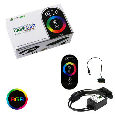Game Max RGB RF Remote Control & Receiver With Touch Control Sata Connectors