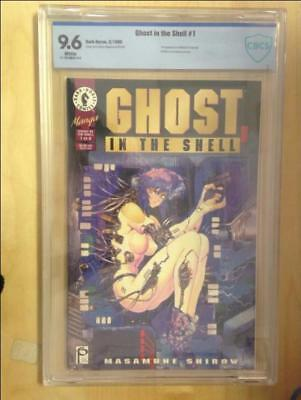 Ghost in the Shell #1   CBCS Graded 9.6     White Pages   1st App Motoko Kusanag
