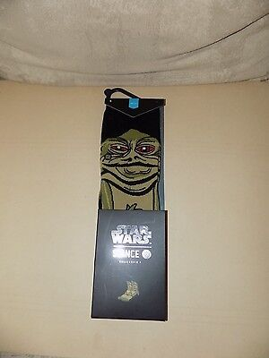 Stance Star Wars Jabba The Hutt Socks Youth Children's Size L Large 2-5.5 Nwt