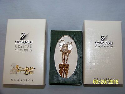 Swarovski Crystal Memories Bouqet Of Roses New In Box Retired  9448000072