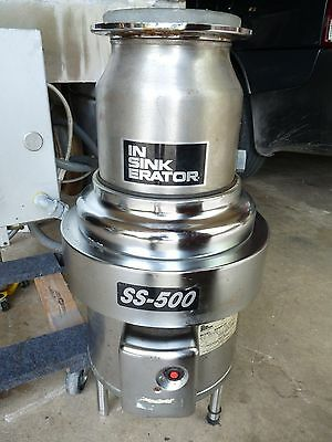 ISE In Sink Erator SS-500 3 Phase Industrial Commercial Garbage Disposal