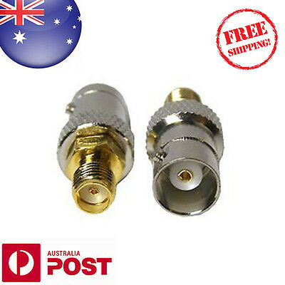 BNC Female Plug to SMA Female Jack Antenna Adapter Connector - AUSPOST - Z268F