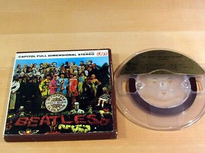 Reel-To-Reel THE BEATLES Sgt. Pepper's Lonenly Hearts Club Band CAPITOL Y1T-2653