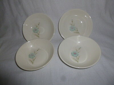 Lot of 4 ~ Taylor Smith Taylor Ever Yours Boutonniere Fruit Dessert Sauce Bowls