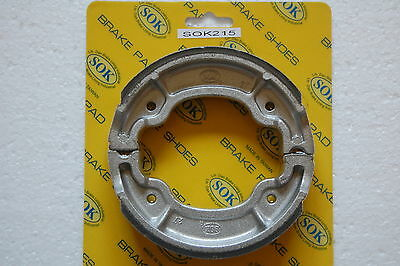 REAR BRAKE SHOES fit YAMAHA YFA1 Breeze 125, 92-04 YFA1