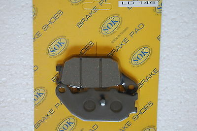 REAR BRAKE PADS fits HONDA NSS 250 Forza, 00-03 NSS250 NSS250A