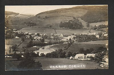 Carrog Corwen - real photographic postcard