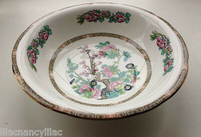 "DUCHESS ""INDIAN TREE"" (gold trim) SERVING / VEGETABLE / FRUIT BOWL 24cm DIAMETER"