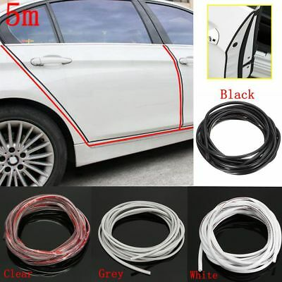 5M 16FT Car Door Edge Guard Protector Rubber Moulding Trim Rubber Strip & TOOL