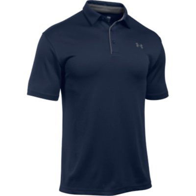 Under Armour 12901404102X Men's Navy Tech Polo 2XL