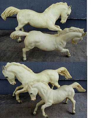 Large & Small Breyer Light Skin Galloping Horses