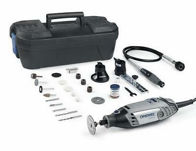 Dremel 3000-3/55 Silver Rotary Multi Tool Kit With 3 Attachments + 55 Accs