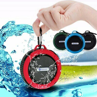 Waterproof Wireless Bluetooth Mini Speaker SHOWER Car Suction Handsfree with Mic