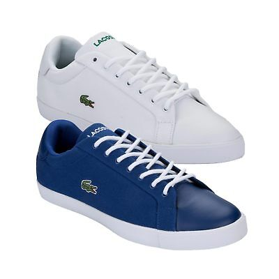Mens Lacoste Grad Pique Trainers in Various Colors & Sizes From Get The Label