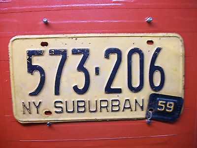 New York = 1958 With  59 Tab = Suburban Vehicle  =661